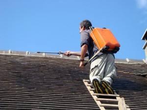 Traitement hydrofuge de toit Fontvieille