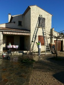Renovation de facade Sausset-les-Pins