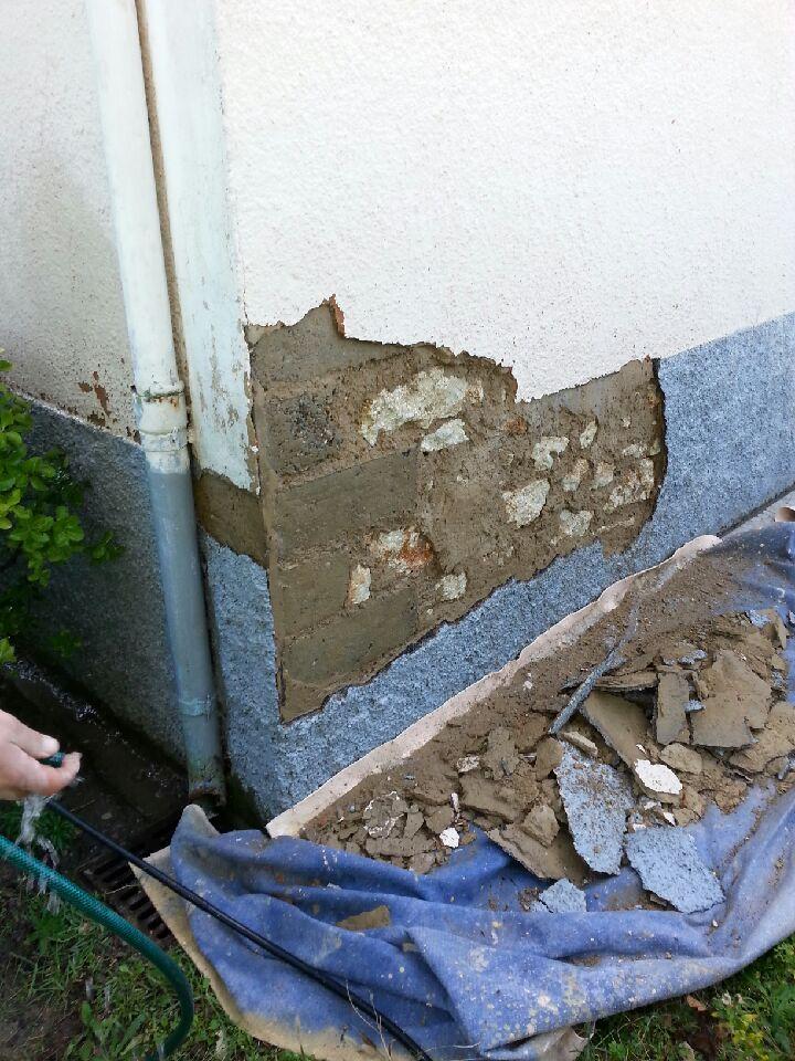 reparation de facade 1