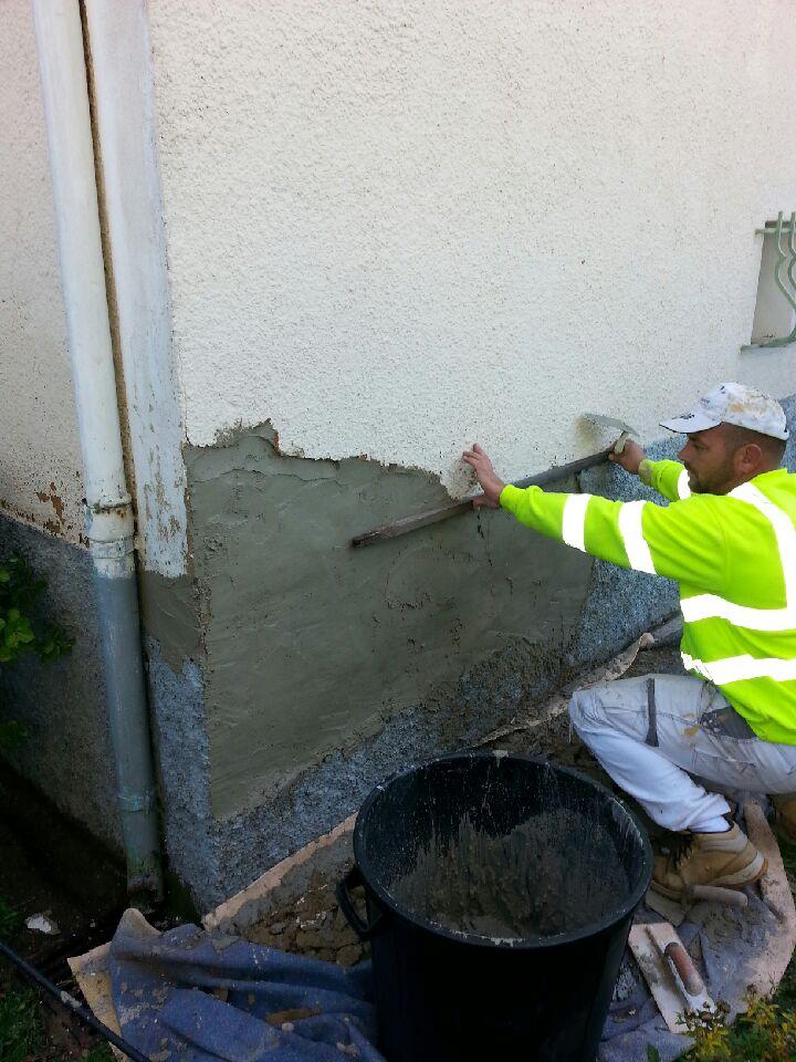 reparation de facade 2